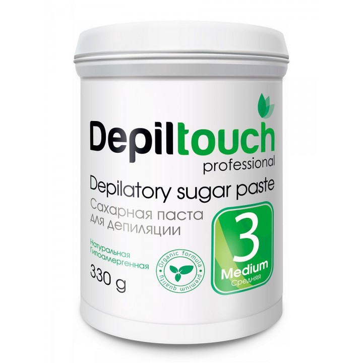 Depiltouch Сахарная паста для депиляции СРЕДНЯЯ 330г