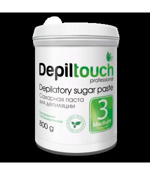 Depiltouch Сахарная паста для депиляции (средняя, 800 г)