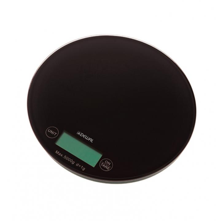 DEWAL Весы для краски электронные черные //NS0005