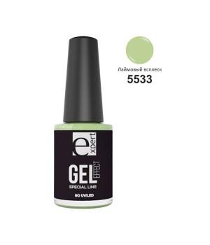 5533 «expert» лак для ногтей с гель-эффектом, 5мл, лаймовый всплеск