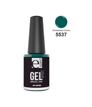5537 «expert» лак для ногтей с гель-эффектом, 5мл, оливковая осень