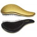 DEWAL Beauty Щётка для легкого расчесывания большая с ручкой цвет золотисто-черный//DBT-08