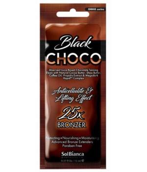 SolBianca Choco Black крем для загара в солярии 25 бронзаторов 15мл.