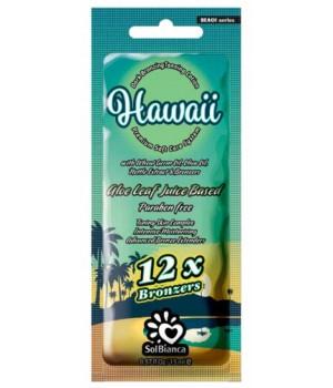 SolBianca Hawaii крем для загара в солярии 12 бронзаторов 15мл.