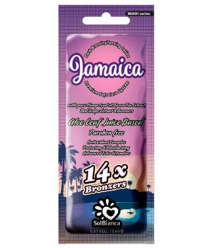 SolBianca Jamaica крем для загара в солярии 14 бронзаторов 15мл.