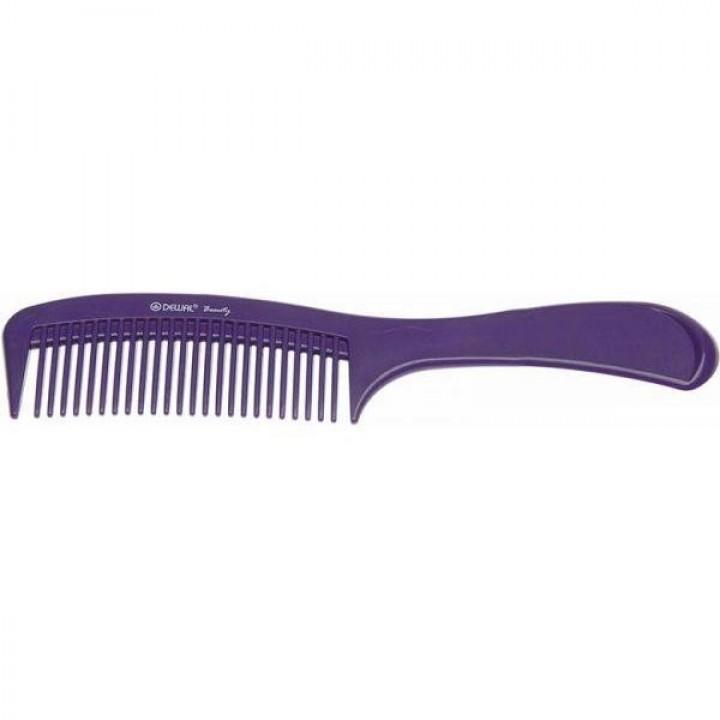 DEWAL Beauty Расчёска с ручкой, фиолет 22,0 см