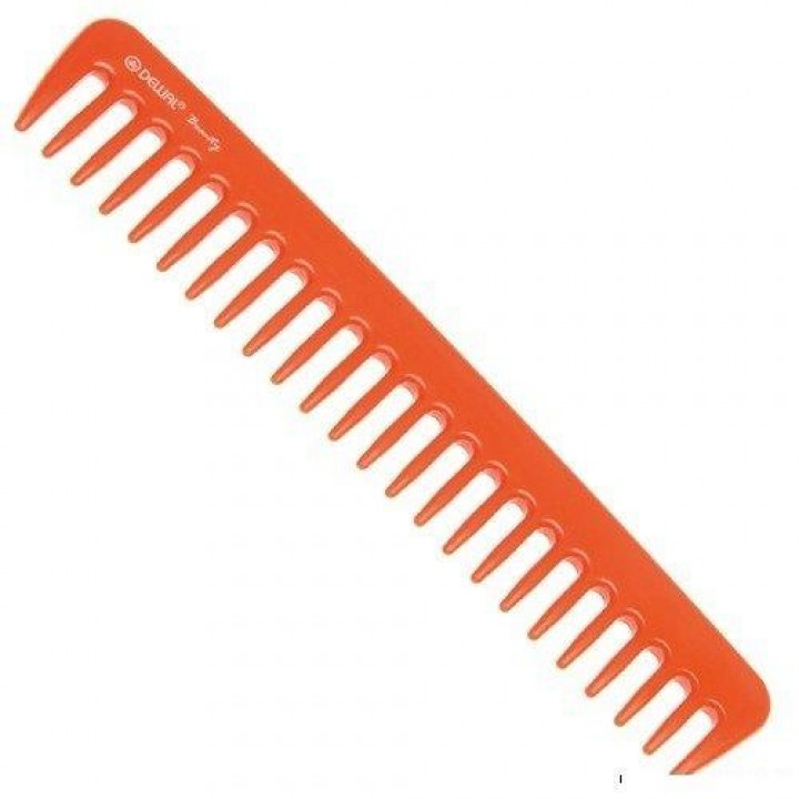 DEWAL Beautу Гребень оранжевый 18,0 см