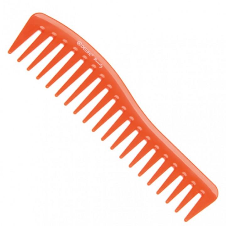 DEWAL Beautу Гребень волна оранжевый 18,0 см