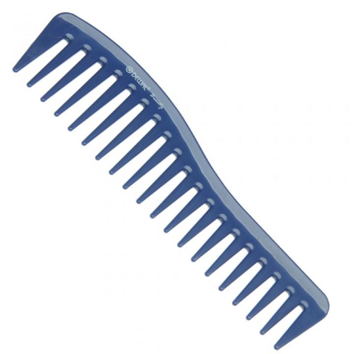 DEWAL Beautу Гребень волна синий 18,0 см