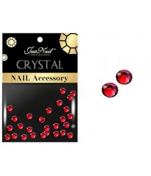 JN Стразы стекло (красные, ss4, 30 шт)