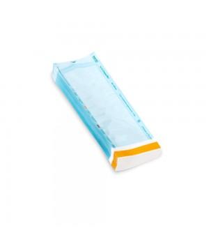 ProfCosmo Пакет (бумага/пленка) с индик.для паровой, радиц., этилен.стерилизации 150*250мм 100шт/уп