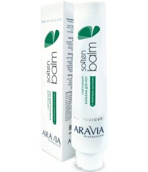 Смягчающий бальзам для ног с эфирными маслами Soften Balm ARAVIA Professional, 100 мл