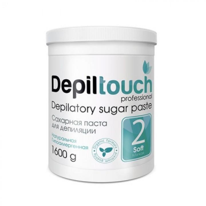Depiltouch Сахарная паста для депиляции МЯГКАЯ 1600гр