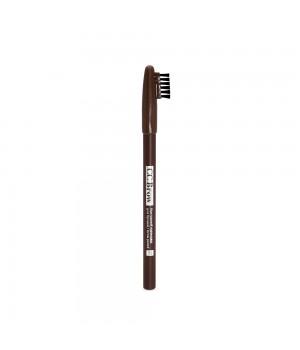 Контурный карандаш для бровей pencil CC Brow, цвет 04 (коричневый)