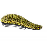 MELON Щетка для волос и массажа кожи головы МР с многоуровневыми щетинками, леопард 186*80мм