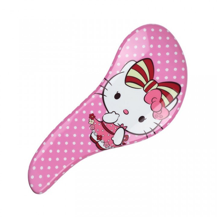 MELON Щетка для волос и массажа кожи головы МР с многоуровневыми щетинками, Hello Kitty 186*80мм//70028