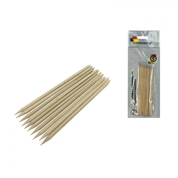 Profcosmo Деревянные палочки для маникюра GM-185-01 (10 шт) Orange sticks