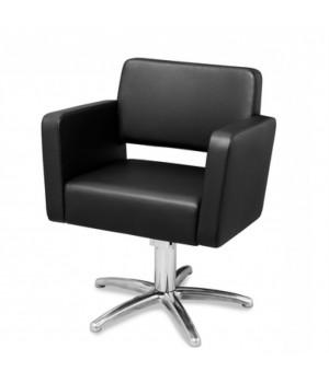 Кресло парикмахерское ESTEL с квадратными подлокотниками