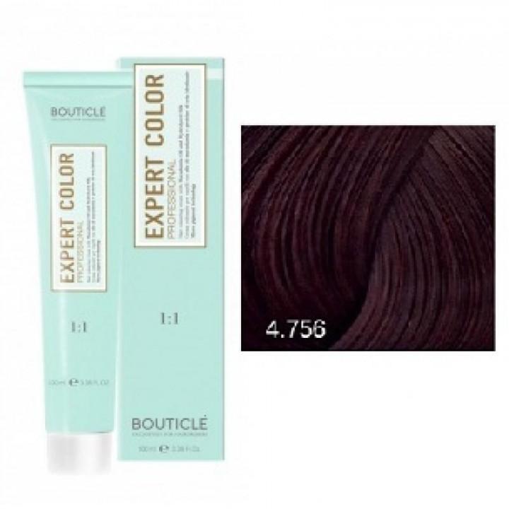 4/756 шатен махагоново-фиолетовый - Expert Color 100 ml