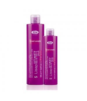 Шампунь с разглаживающим действием для гладких и вьющихся волос - S-Lisap Ultimate Plus Taming Shamp, 1000 мл
