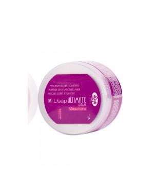 Увлажняющая маска для волос с разглаживающим эффектом - M-Lisap Ultimate Plus Moisture Rich Smoothin, 250 мл