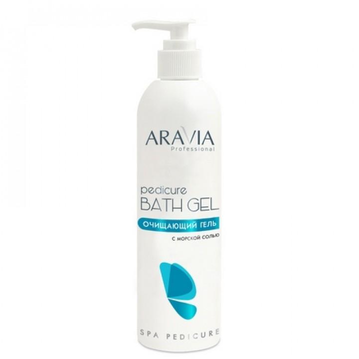 """""""ARAVIA Professional"""" Очищающий гель с морской солью Pedicure Bath Gel, 300 мл"""