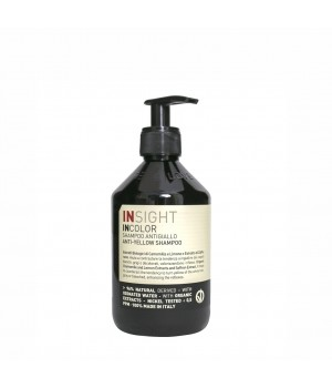 Шампунь для нейтрализации жёлтого оттенка волос ANTI-YELLOW (400 мл)