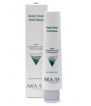 """""""ARAVIA Professional"""" Маска очищающая для лица с глиной и AHA-кислотами, 100 мл."""