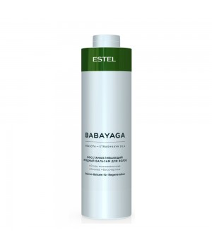BABAYAGA by ESTEL Восстанавливающий ягодный бальзам для волос, 1000 мл