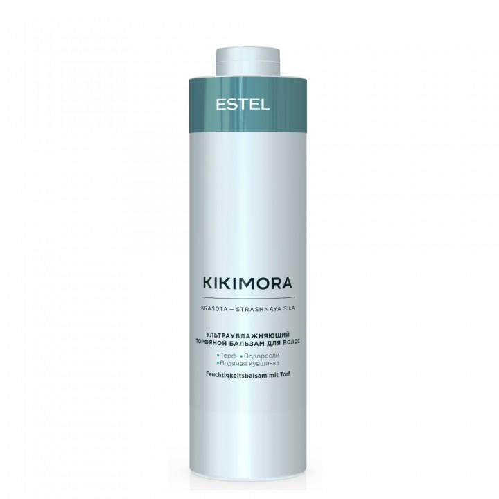 KIKIMORA by ESTEL Ультраувлажняющий торфяной бальзам для волос, 1000 мл