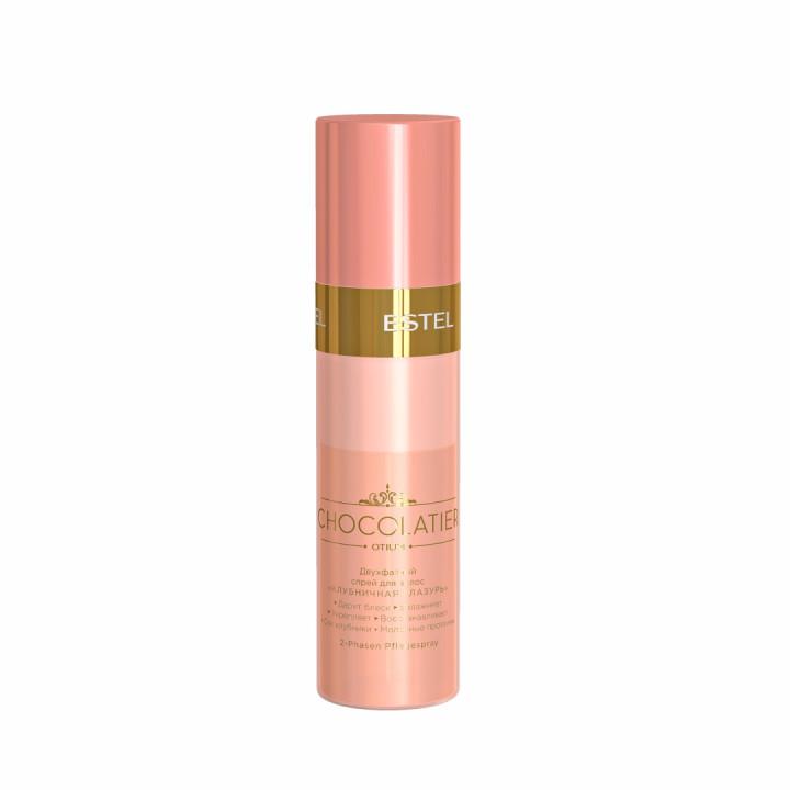 Двухфазный спрей для волос «Клубничная глазурь» ESTEL CHOCOLATIER, 200 мл