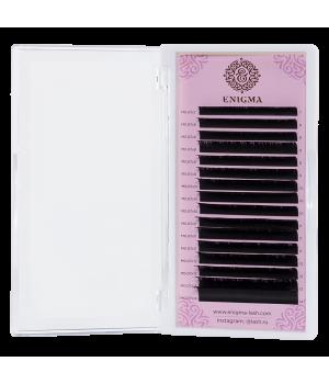 Черные ресницы Enigma 0.10/D/9 mm (16 линий)