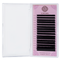 Черные ресницы Enigma 0.10/L/8 mm (16 линий)