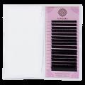 Черные ресницы Enigma микс 0.10/D/7-13 mm (16 линий)