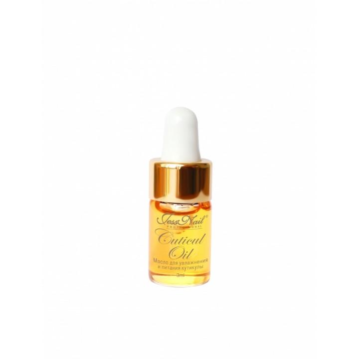 JN Масло для увлажнения и питания кутикулы 3 мл Витамин Е золотая крышка