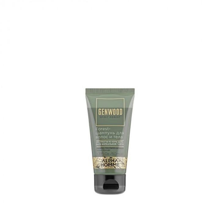 Forest-шампунь для волос и тела ALPHA HOMME GENWOOD , 50 мл