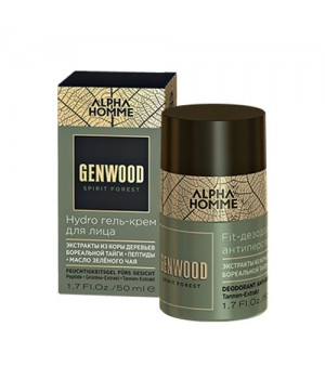 Hydro гель-крем для лица ALPHA HOMME GENWOOD , 50 мл