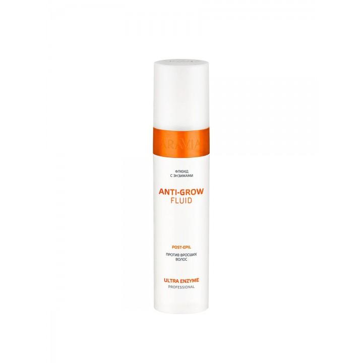 Флюид с энзимами против вросших волос Anti-Grow Fluid ARAVIA Professional, 250мл