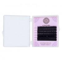 Черные ресницы Enigma микс 0.07/M/6-8 mm (6 линий)