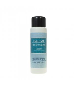Gel*off Sanitizer Универс.очищ.средство для рук и ногтей с антибактериальн. эффектом 250мл