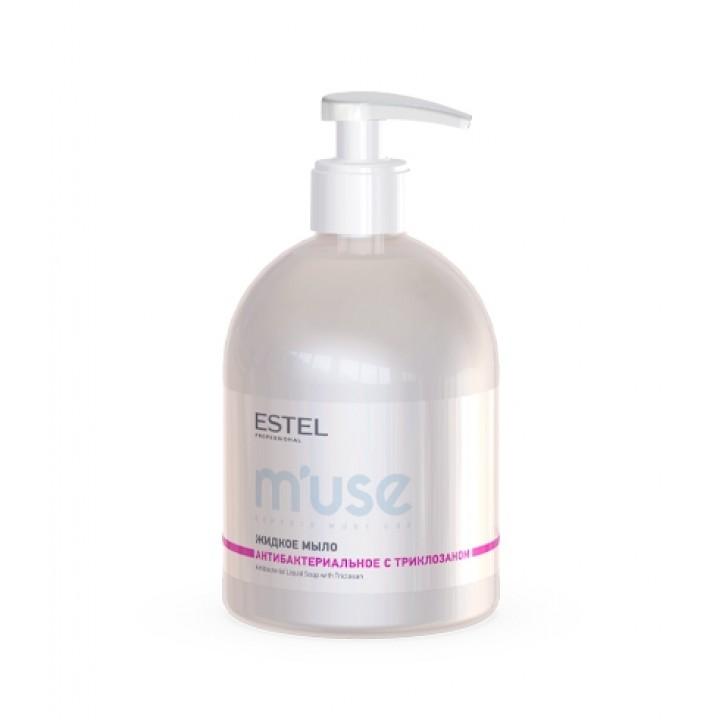 Жидкое мыло антибактериальное с триклозаном  ESTEL M'USE , 475 мл