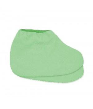 Носки для парафинотерапии JN махровые, светло-зеленые