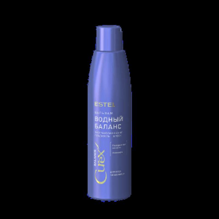 Бальзам Водный баланс  для всех типов волос CUREX BALANCE,  250 мл