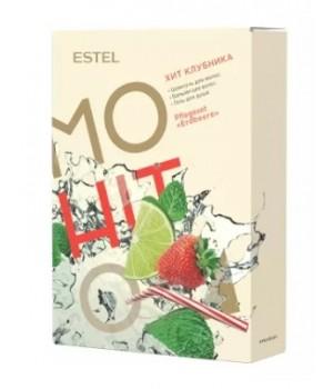 ESTEL MOHITO Набор HIT #3 Клубника (шампунь 250, бальзам 200, гель для душа 200)
