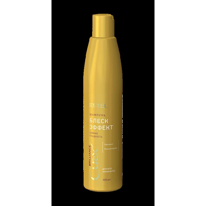 """CUREX BRILLIANCE Шампунь """"Блеск-эффект"""" для всех типов волос (300 мл)"""