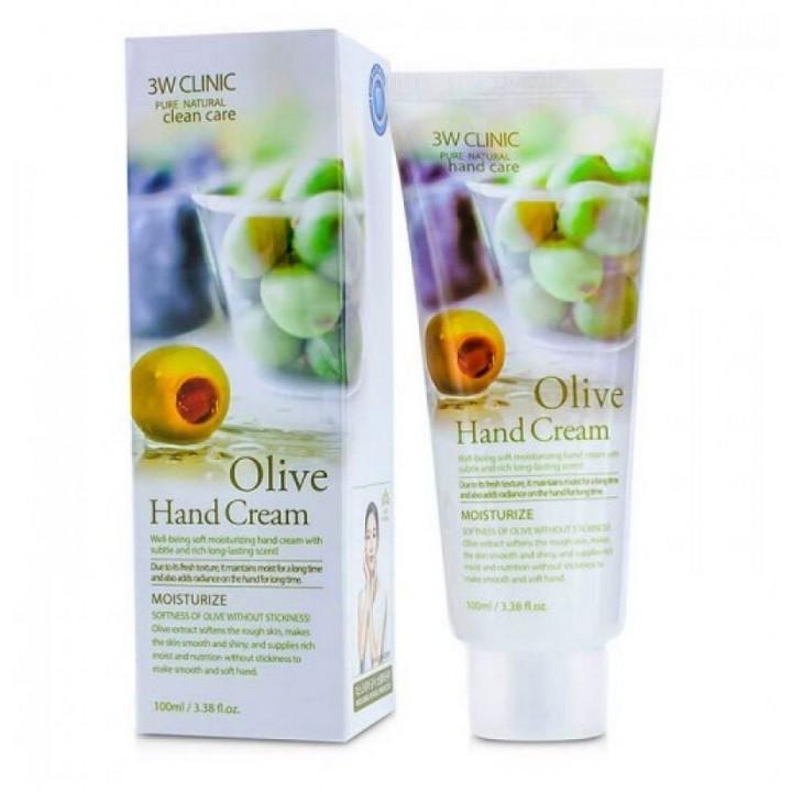 Крем для рук увлажняющий С экстрактом ОЛИВЫ Olive Hand Cream, 100 мл