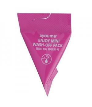 MINI Маска для лица AYOUME ENJOY mini wash-off pack, 3 гр