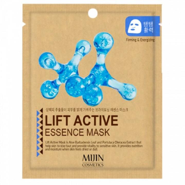 МЖ Cosmetics Маска для лица тканевая лифтинг эффект LIFT ACTIVE ESSENCE mask, 25 гр