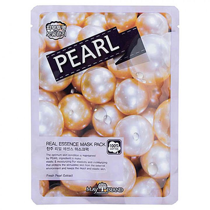 МСЛ REAL Маска для лица тканевая Real Essence PEARL Mask Pack, 25 мл