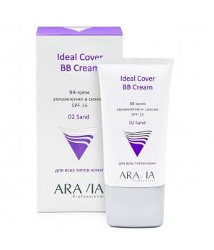"""ARAVIA Professional"" ВВ-крем увлажняющий SPF-15 Ideal Cover BB-Cream Sand 02, 50 мл."